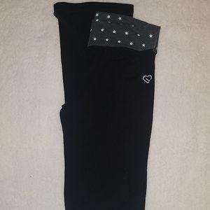 Aeropostle Live Love Dream Black Pants Medium Jr's
